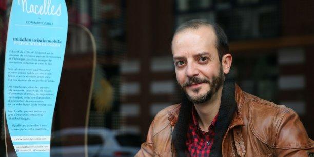Hafid El Mehdaoui, cofondateur de la startup Comm1possible