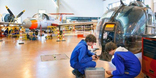 L'Aérocampus accueille cette année 285 élèves.