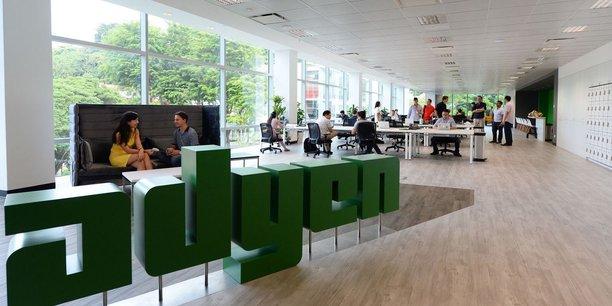 Fondée en 2006, Adyen emploie plus de 600 personnes à son siège d'Amsterdam et dans 14 bureaux dans le monde.