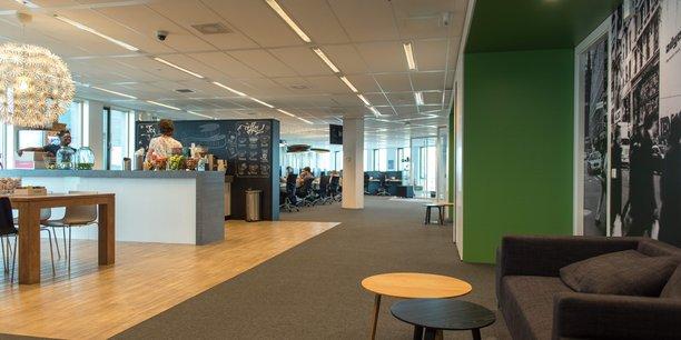 Déjà plus vraiment une startup, Adyen emploie 520 personnes, dont 300 à son siège d'Amsterdam. Elle accueille 16 nouveaux arrivants par mois.