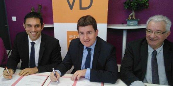 Fabrice Lorente, Alexis Melidonis et Jacques Font