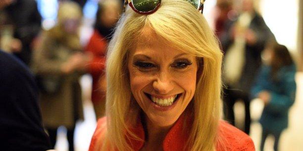 Kellyanne Conway a remplacé l'ancien directeur de campagne de Donald Trump Paul Manafort en août 2016 alors qu'il était accusé de corruption.