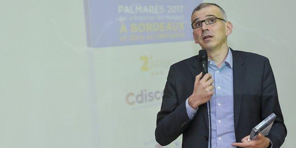 Emmanuel Grenier, PDG de Cdiscount, 2e du top 100 du Palmarès des entreprises qui recrutent à Bordeaux et dans sa métropole en 2017