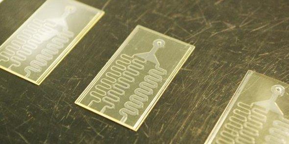 Mélangeur microfluidique.