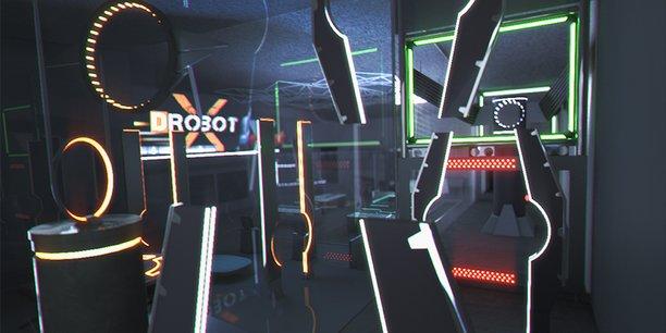 DrobotX proposera des zones de vol libre, des courses d'obstacles... pour évoluer les drones.