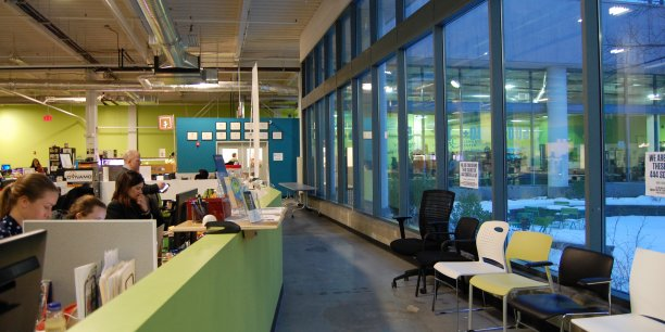 Greentown Labs, à Somerville, aux Etats-Unis.