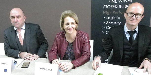 Philippe Dumand, Agnès Grangé, Frédéric Bernard