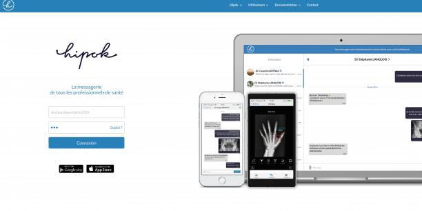 La messagerie Hipok déjà disponible sur smartphone sera bientôt accessible en version web.