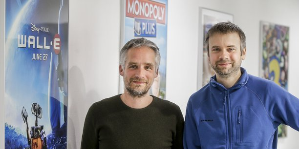 David Dedeine et Sébastian Wloch, co-dirigeants d'Asobo Studio