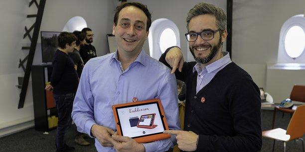 Olivier Repessé et Sébastien Constant, cofondateurs de L'Addition