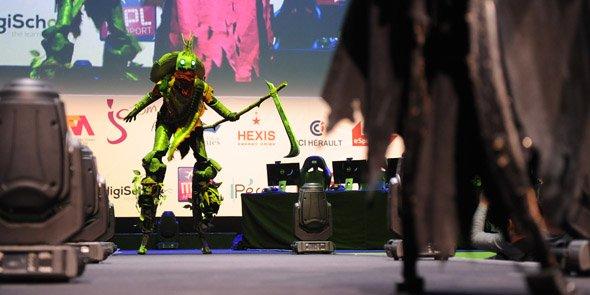 Le concours de cosplay était un des temps forts de l'événement