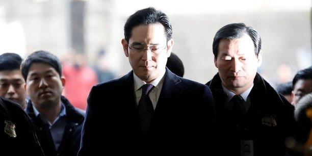 Lee Jae-Yong est de facto président du groupe depuis le décès de son père en 2014 n'a pas annoncé qu'il quittait l'entreprise.