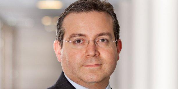 Franck Le Vallois, membre du comité exécutif d'Allianz France, en charge de l'unité distribution