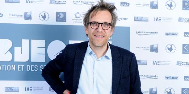 Benoît Bouffart, directeur Produits & Innovation à Voyages-sncf.com, intervenait au Lab'Objectif 2017, le 2 mars à Montpellier