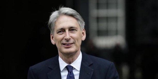 Philip Hammond, ministre des Finances britannique