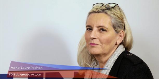 Marie-Laure Pochon, PDG du groupe Acteon