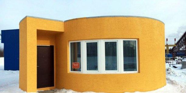 Imprimantes 3d construire une maison en moins de 24 for Imprimante 3d geante maison
