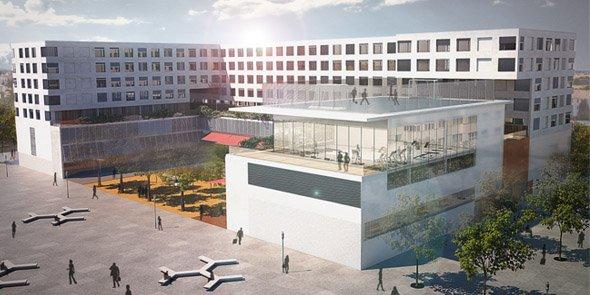 Le projet de campus porté par l'ESMA s'étend sur 16 000 m2