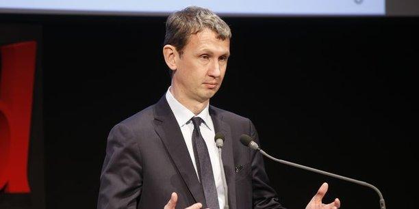 Maxime Lombardini, le directeur général d'Iliad (Free).