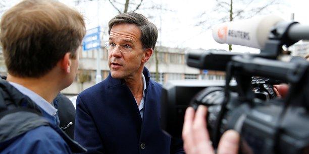 La campagne a commencé pour le premier ministre néerlandais (VVD parti libéral-démocrate).