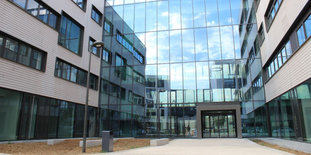 Le nouveau siège d'Adecco à Villeurbanne