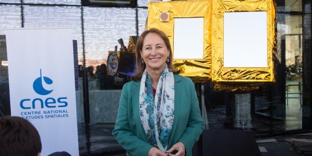Ségolène Royal a annoncé au Cnes de Toulouse une enveloppe de 75 M€ pour MicroCarb