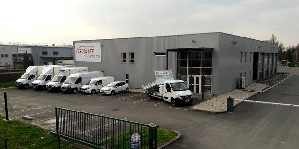 Le carrossier-constructeur Trouillet a désormais deux sites en Gironde : le premier à Saint-Médard d'Eyrans (sur la photo) et un deuxième à Martillac que le groupe vient d'acquérir (CMVI).