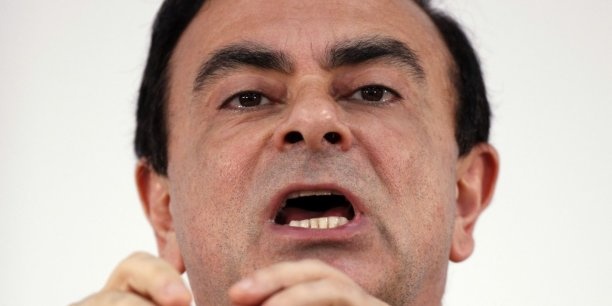 Carlos Ghosn, PDG de Renault.