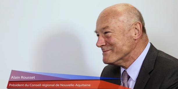 Alain Rousset, président de la Nouvelle-Aquitaine, évoque la stratégie de la Région en matière de transformation numérique.