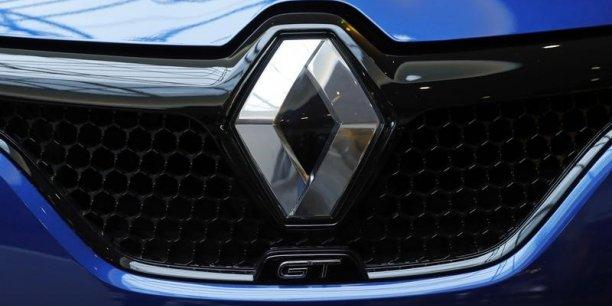 Le chiffre d'affaires de Renault bondit de 19,7% au premier trimestre