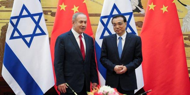 Netanyahu en visite officielle en chine[reuters.com]