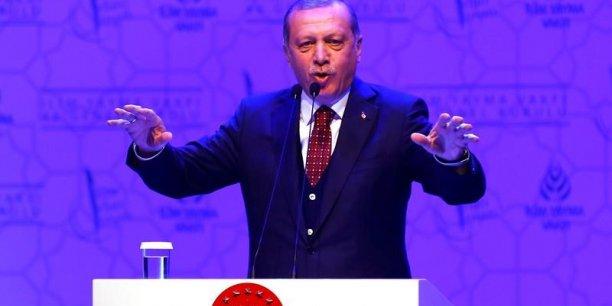 Pour le président Recep Tayyip Erdogan,  les résultats du référendum sont clairs.