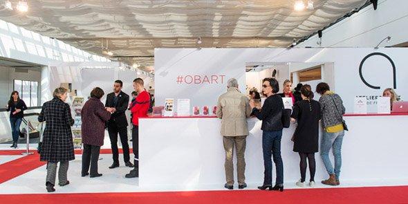 55 % des exposants du salon Ob'Art sont issus d'Occitanie