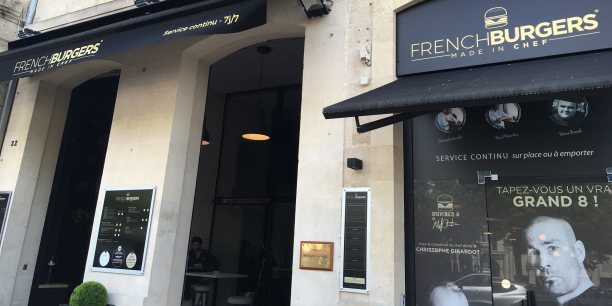 D'ici deux mois cette première brasserie French Burgers, sur les allées de Tourny à Bordeaux, sera fermée pour travaux.