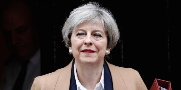 Theresa May, Premier ministre britannique.
