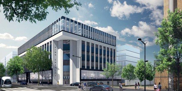 Le King Charles accueillera le futur campus numérique de la Région.