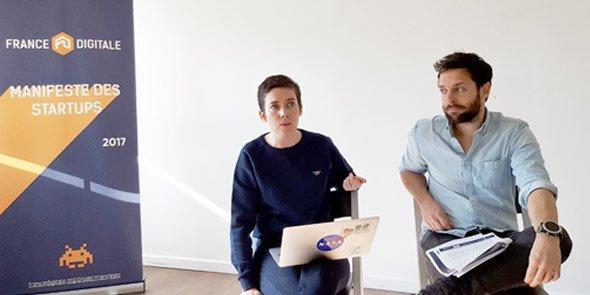 Rachel Delacour (Zendesk) et Olivier Reynaud (Teads).