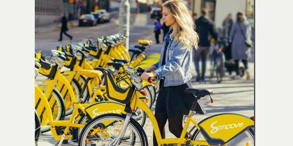 La PME Smoove, spécialiste des vélos en libre-service, est présente dans 23 pays dans le monde avec 40 000 vélos en circulation.