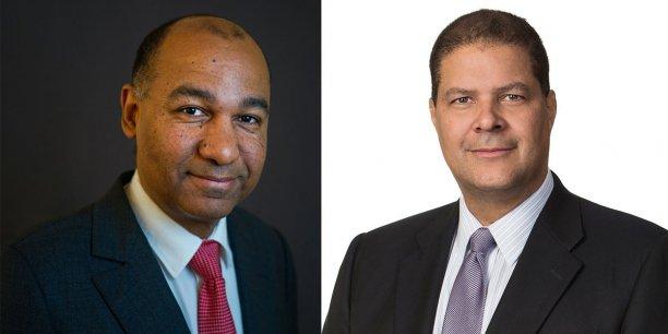 Vincent Le Guennou et Hurley Doddy