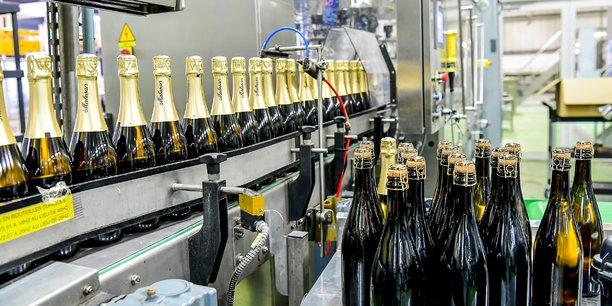 Le site Oenoalliance du groupe Castel a bénéficié d'un investissement de 1,5 million d'euros pour le crémant de Bordeaux.