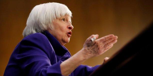 Janet Yellen n'a pas mentionné Donald Trump mais le président républicain avait directement fait pression sur la Fed pendant sa campagne en l'accusant d'avoir fait le jeu des démocrates.