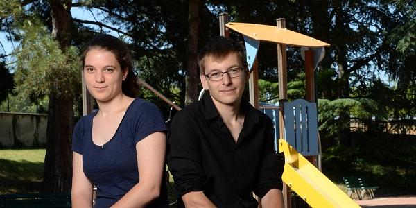 Agathe Zebrowski et Sylvain Lhuissier, fondateurs de Chantiers Passerelles.