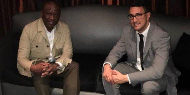 Hamet Bakayoko et M'jid El Guerrab