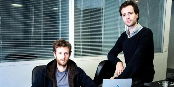 Marc Haussaire et Clément Le Bras, les deux cofondateurs de Lilo.