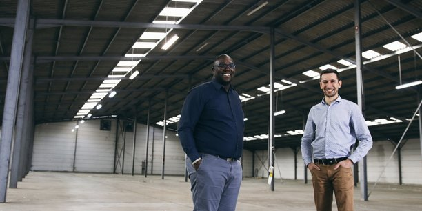 Grégory Louis et Clément Soulier, cofondateurs de l'entreprise, en 2017