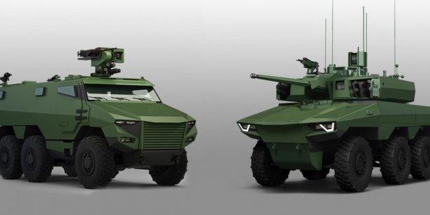 L'armée de Terre recevra 780 Griffon et 400 en version légère et 110 Jaguar