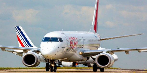 Hop ! Air France proposera plus de 1,2 millions de sièges de et vers Bordeaux avec son programme hiver