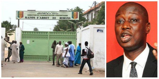 La prison urbaine de Rebeuss à Dakar, le lieu où KHalifa Sall est incarcéré