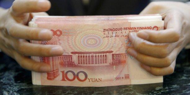 Les composantes relevant de la finance de l'ombre couvrent des crédits totalisant 1.240 milliards de yuans (169 milliards d'euros), accélérant pour atteindre un niveau record, selon une analyse des données réalisée par l'agence financière Bloomberg.