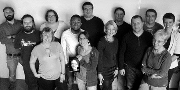 L'équipe de BSD Concept (Heredis) à Montpellier.
